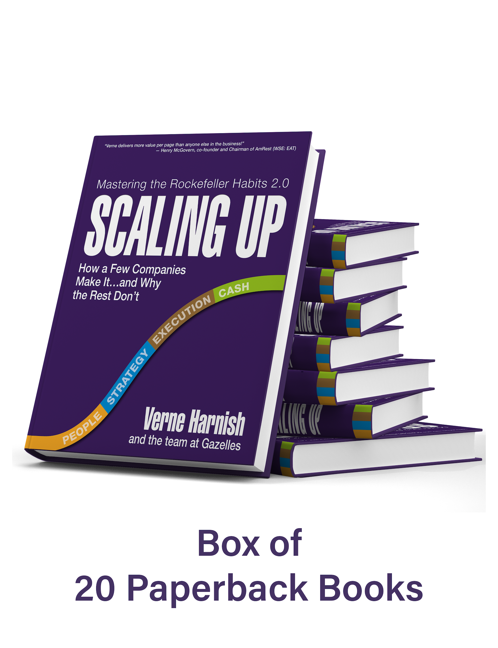 Scaling Up – Box of 20 Paperback Books