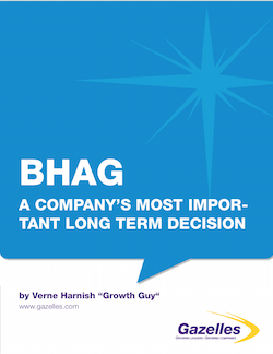 2 Critical Vision Decisions – Profit Per X and BHAG