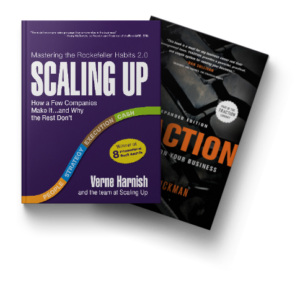 Scaling Up and Traction Book Covers